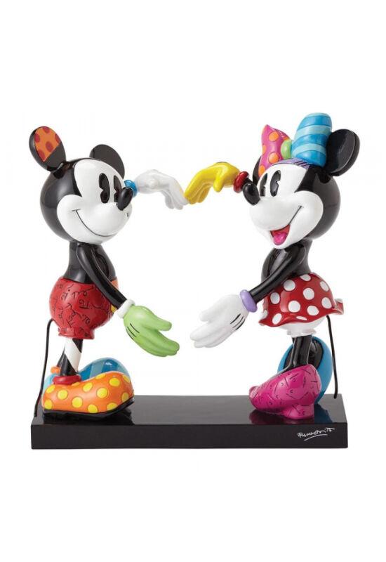 Mickey & Minnie egér karjaikkal szívet formálnak