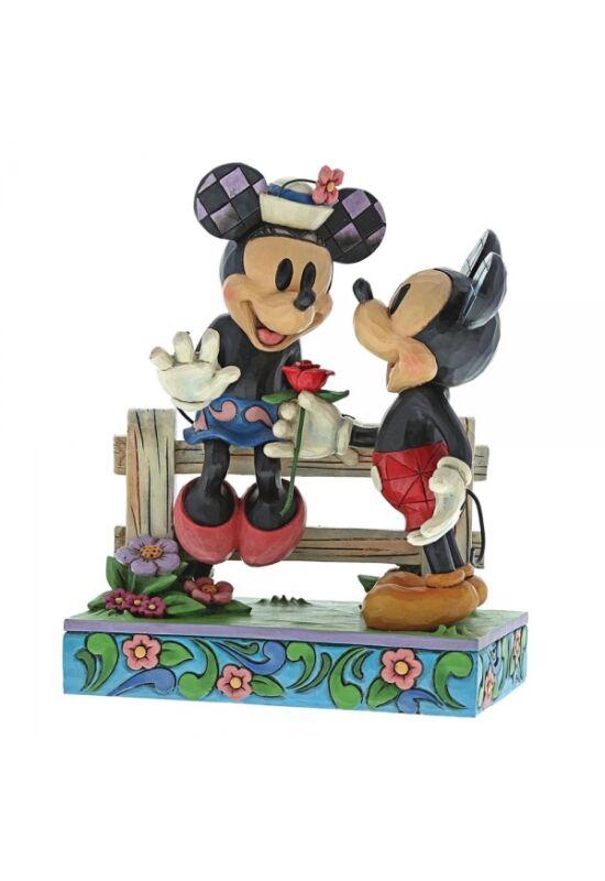 Bimbózó Szerelem (Mickey Egér & Minnie Egér Figura)