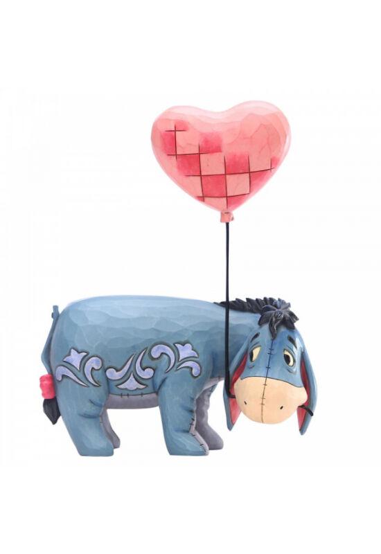 Szerelmes Füles szív alakú lufival