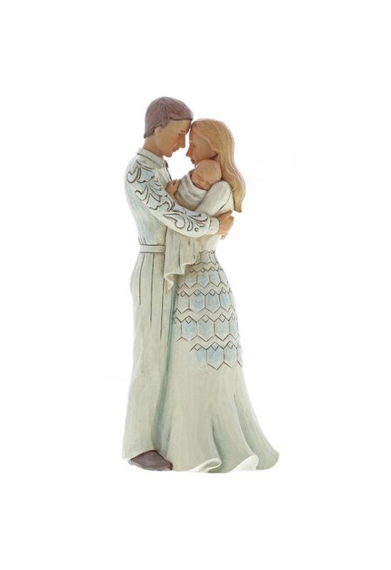 Az élet legnagyobb áldása (Fiatal pár babával)