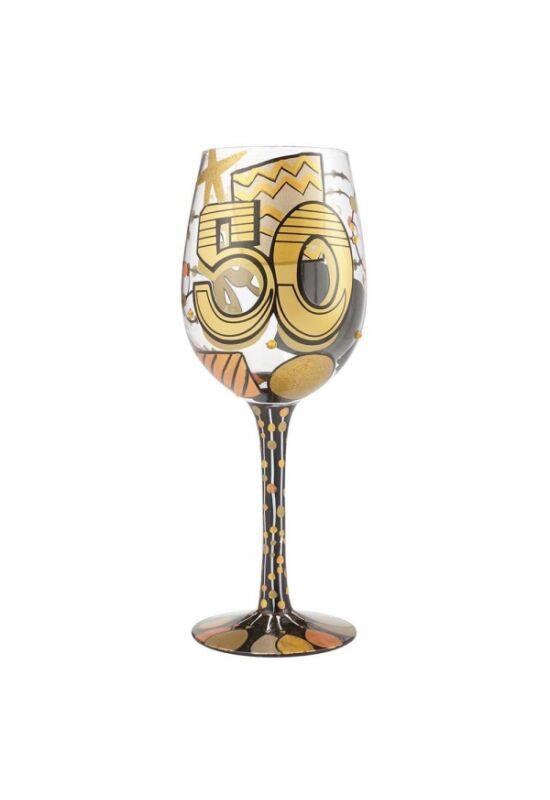 50. Születésnapi Borospohár