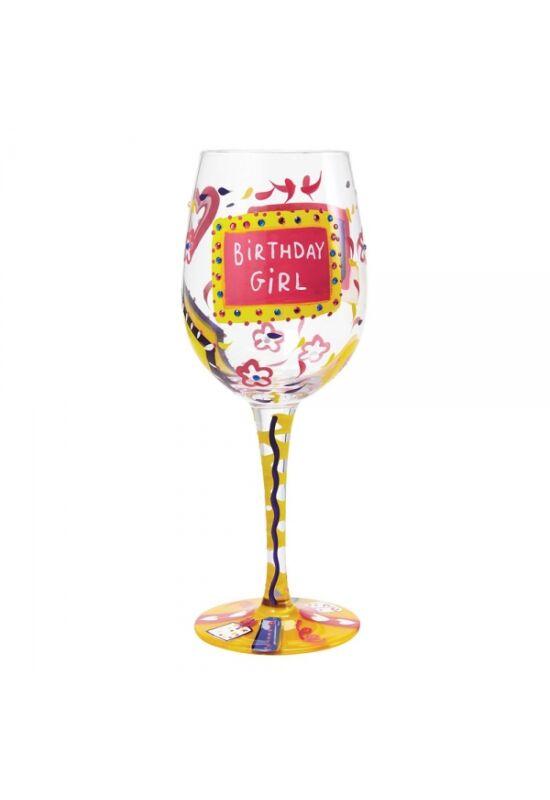 """Szülinapos Borospohár """"Birthday Girl"""""""