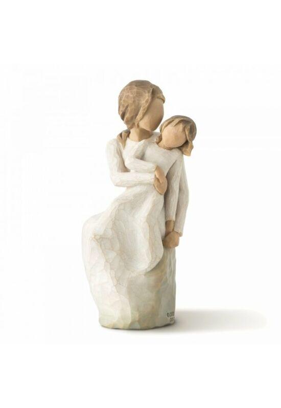 Anya és lánya Willow Tree szobor